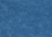 Blue color artificial leather pattern. Abstract background and texture for design Stock Image