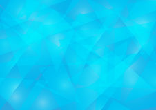 Blue color background. Polygon vector illustration Royalty Free Stock Photos