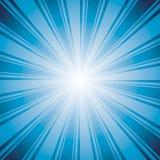 Blue color burst background. Royalty Free Stock Images