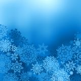 Blue color christmas background. EPS 8 Royalty Free Stock Image