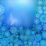 Blue color christmas background. EPS 8 Royalty Free Stock Images
