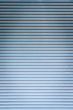 Blue color corrugated metal Royalty Free Stock Photo