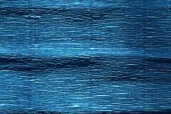 Blue color crepe paper. stock photo