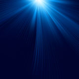 Blue color design with a burst Royalty Free Stock Images