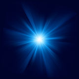 Blue color design with a burst. EPS 8 Royalty Free Stock Photography