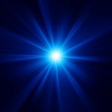 Blue color design with a burst. EPS 10 Royalty Free Stock Photography