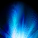 Blue color design with a burst. EPS 10 Royalty Free Stock Photo