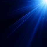 Blue color design with a burst. EPS 10 Royalty Free Stock Images
