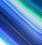 Blue color fabric samples for sewing Stock Image