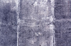 Blue color grungy cement wall surface Royalty Free Stock Photos