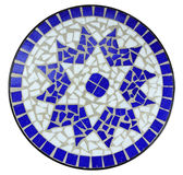 Blue color mosaic Royalty Free Stock Images