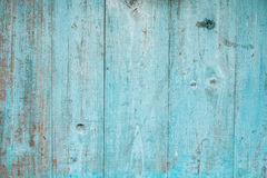 Blue color planks Royalty Free Stock Photography
