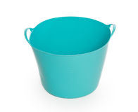 Blue color plastic basket Stock Photography