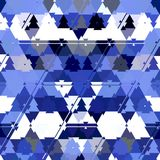 Abstract blue color Polygonal geometric background. Blue color Polygonal geometric background royalty free illustration