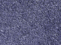 Blue Color Rubber Sport Coverinf Texture. Royalty Free Stock Image