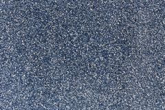 Blue color small stones pattern, gravel texture Stock Image