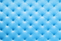 Blue color sofa cloth texture Royalty Free Stock Photography