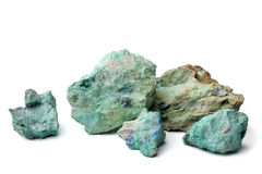Blue color stone Royalty Free Stock Photos