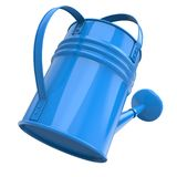 Blue Color Watering Pot Stock Image