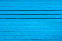 Blue color of wood wall Royalty Free Stock Photography