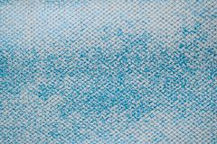 Halftone blue white fabric swatch samples texture unprinted suiting fabric from above .Cloth texture royalty free stock photos