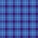 Blue Colored Tartan Seamless Pattern Royalty Free Stock Photo