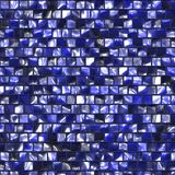 Blue colored tile pattern Stock Photos