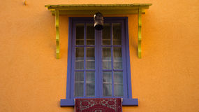 Blue colored window Royalty Free Stock Photos