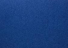 Blue colored wool textile Stock Images