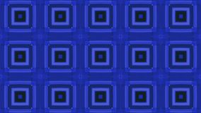 Blue colorful abstract squares for music video. Animated Computer Design stock video footage