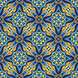 Blue colorful pattern Stock Images