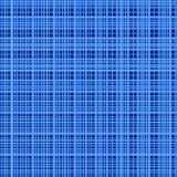 Blue colors abstract grid background. Stock Images