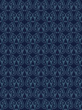 Blue Colors Art Deco Style lattice Pattern design. Original Patt Royalty Free Stock Photo