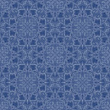 Blue Colors Art Nouveau Style Pattern design. Original Pattern a Stock Photo