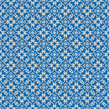 Blue Colors Geometry Pattern. Korean traditional Pattern Design Royalty Free Stock Photography