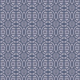 Blue Colors Round grid Pattern. Korean traditional Pattern Desig Royalty Free Stock Image