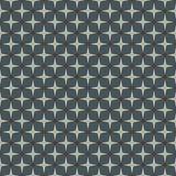 Blue colors seamless pattern with stylized repeating stars. Simple geometric ornament. Modern stylish texture. Royalty Free Stock Photography