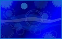 Blue colour background royalty free illustration