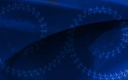Blue colour background Royalty Free Stock Photography