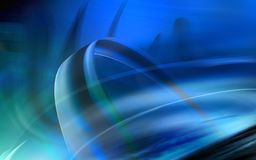Blue colour background Stock Image