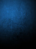 Blue coloured plaster wall Royalty Free Stock Photos