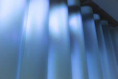 Blue columns Royalty Free Stock Photo