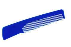 Blue comb Royalty Free Stock Photography