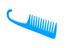 Blue Comb Royalty Free Stock Photo