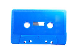 Blue Compact Cassette Isolated