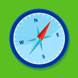 Blue compass Royalty Free Stock Photo