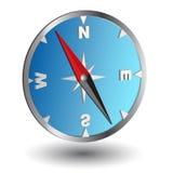 Blue compass Stock Photos