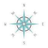 Blue compass Royalty Free Stock Photos
