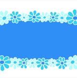 blue composition flowers Στοκ εικόνες με δικαίωμα ελεύθερης χρήσης