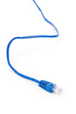 Blue Computer Cable Royalty Free Stock Images